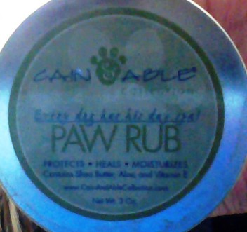 paw rub